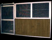 modular stall fronts and walls