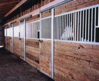 Aluminum Horse Stall Kits